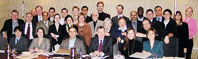 Participants at the Space Security Index Workshop, held March 15-16, 2007, at the Multimedia Room of the Ville Marie Best Western Hotel (click for larger)