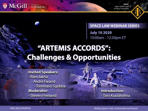 IASL-IAASS Space Law Webinar Series