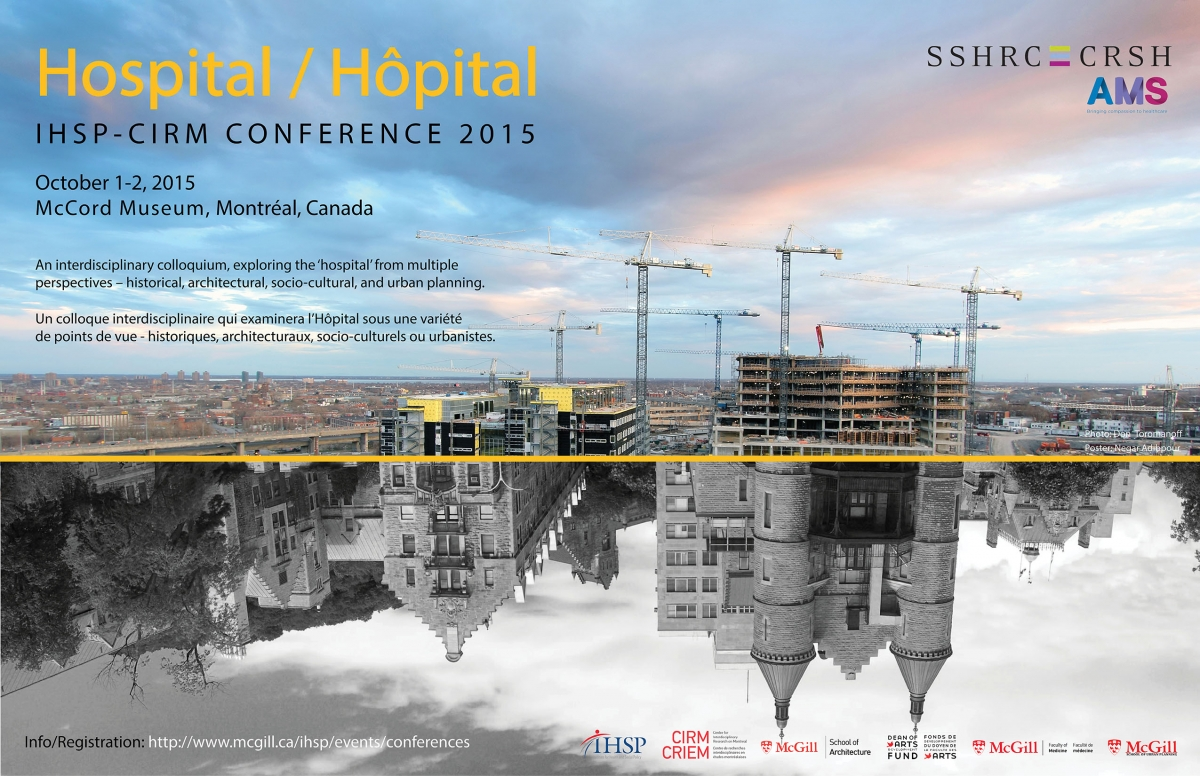 An interdisciplinary colloquium , exploring the 'hospital' from multiple perspectives - historical, architectural, socio-cultural, and urban planning