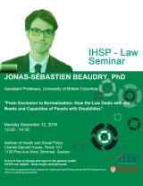 Dr. Jonas-Sébastien Beaudry