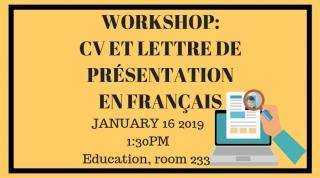 Cv Et Lettre De Présentation En Français Internships