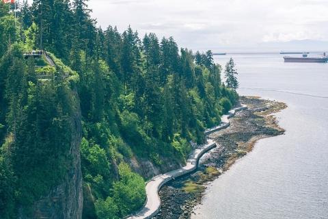 Vancouver BC, Sea Wall