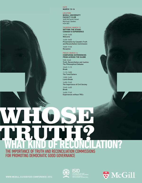 whose truth what kind of reconciliation the importance of truth