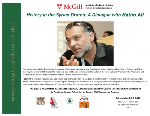 News & Events | Institute of Islamic Studies - McGill University