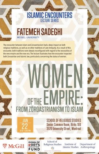 News & Events   Institute of Islamic Studies - McGill University