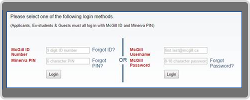 McGill Password Reset Checklist | IT Services - McGill University
