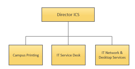 IT Customer Services (ICS) - Organization Chart