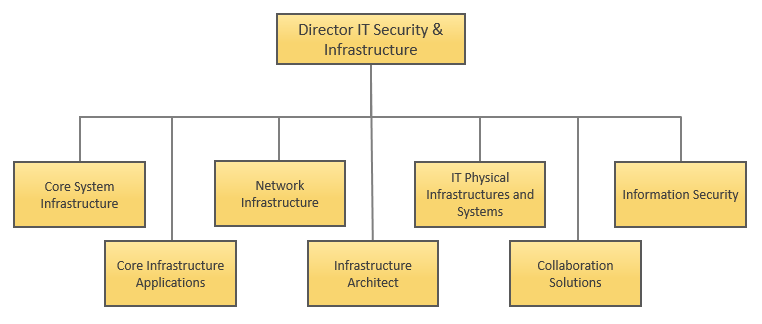 Network and Communication Services (NCS) - Organization Chart