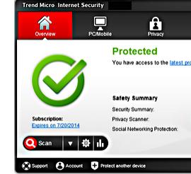 Antivirus Software Update Trend Micro Internet Security