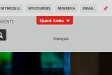 Quick Links Pinnable Toolbar