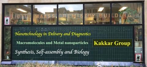 Contact Professor Kakkar at McGill University's Chemistry Department