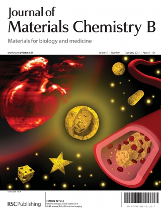 Journal of Materials Chemistry B cover page