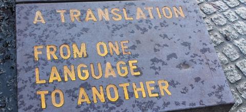 Language: Lost in translation