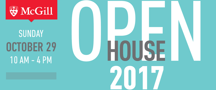 Come to McGill's Open House and visit the Faculty of Law on Sunday, October 29, 2017.