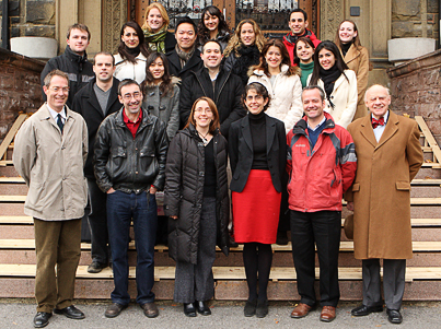 Institute of Comparative Law - class photo 2008-2009