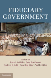 Cover of Fiduciary Government book