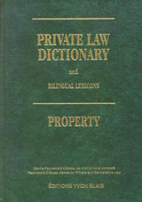 Cover of Private Law Dictionary