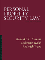 Personal Property Security Law, 2nd edition