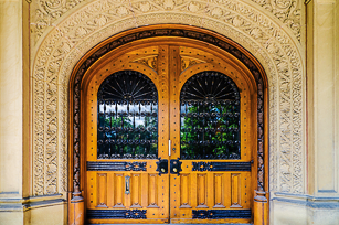 Old Chancellor Day Hall door