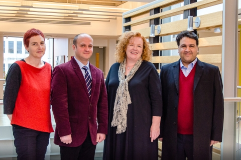 The 2016 O'Brien Fellows in Residence