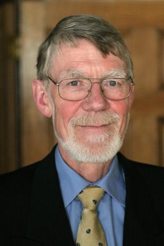 Professor Emeritus William F. Foster (1943-2021). Photy by Claudio Calligaris, 2006.