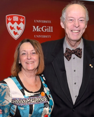 Margaret Somerville and Rod Macdonald were awarded medals on February 18, 2013