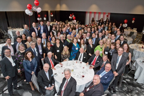 The 2017 Law Homecoming Banquet gathered alums from many generations of graduating classes.