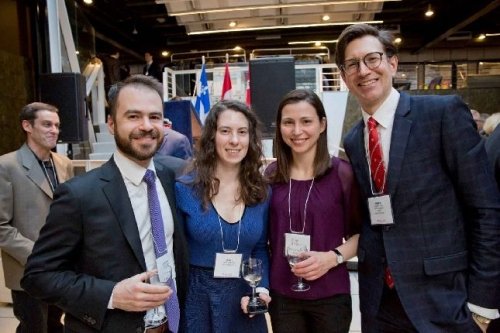 Guests at last year's Montreal alumni cocktail