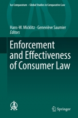 Enforcement and Effectiveness of Consumer Law.