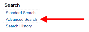 Choose Advanced Search