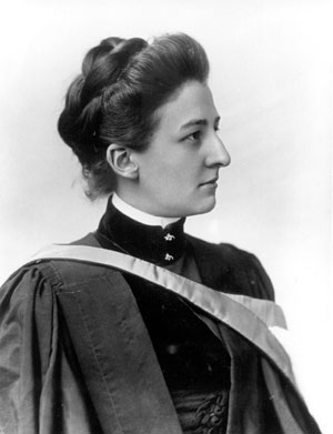 Carrie Derick, Professor of Botany, 1892-1941. (photo 1890). MUA PR014514.