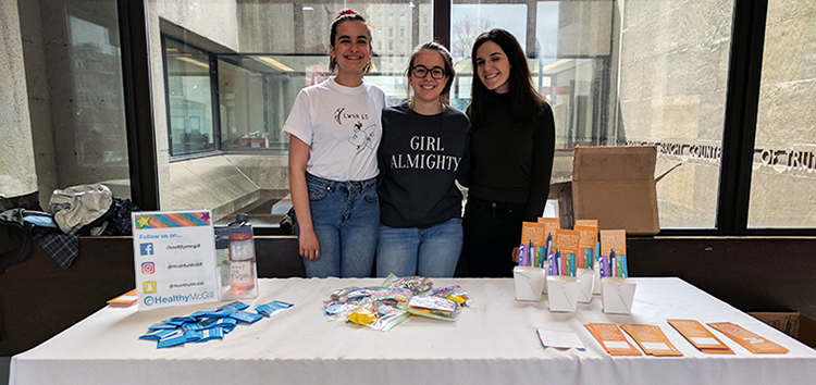 An image of a club tabling