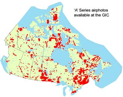 GIC coverage of A-Series airphotos