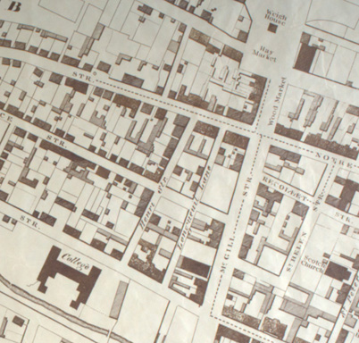Sample section of the map