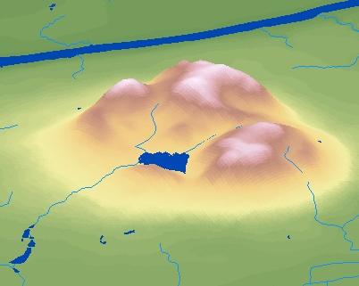 DMTI DEM Example - Mont St-Hilaire