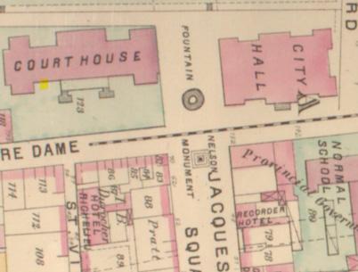 Sample of Hopkins 1879 Atlas, Plate F.