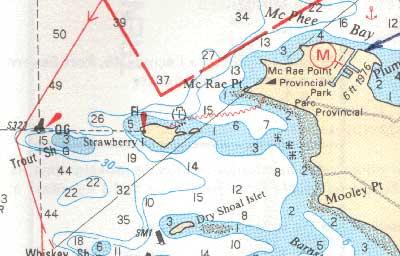 sample hydrographic chart
