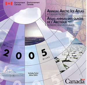 Cover of Anuual Arctic Ice Atlas 2005