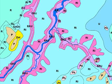 IRDA Soil Map