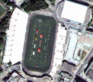 Sample Satellite Streetview orthoimage of Montreal (Molson Stadium)
