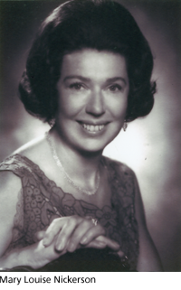 Mary Louise Nickerson