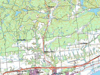 Map Of Canada Trackidsp 006.National Topographic Database Mcgill Library Mcgill University