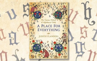 Cover of A place for Everything; the Curious History of Alphabetical Order