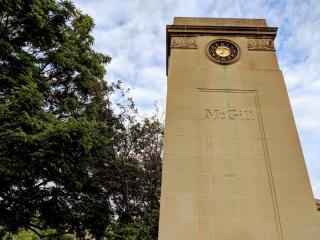 Roddick Gates featuring Birks clock