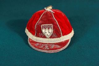 C.I.R.F.U. Champions cap, 1906.
