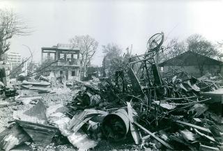 Destruction in Tet Mau Than