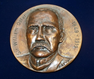 Osler Library Board of Curators' medal