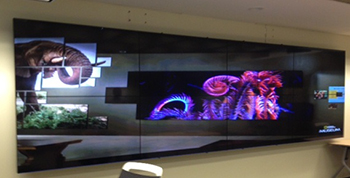 Room A - Video wall