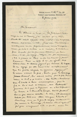 Notes de recherche de François Olivier-Martin