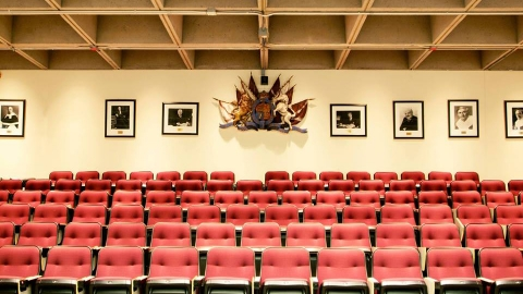 Photo of the Maxwell Cohen Moot Room